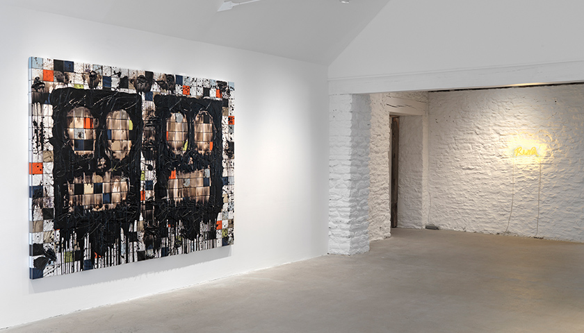Installation view 7 for Rashid Johnson: Stranger